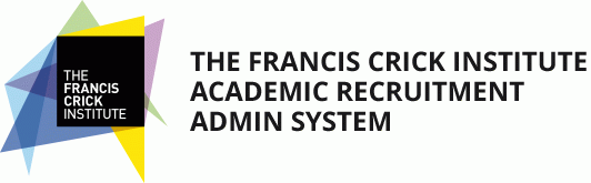 the francis crick institute{CR}academic recruitment{CR}admin system
